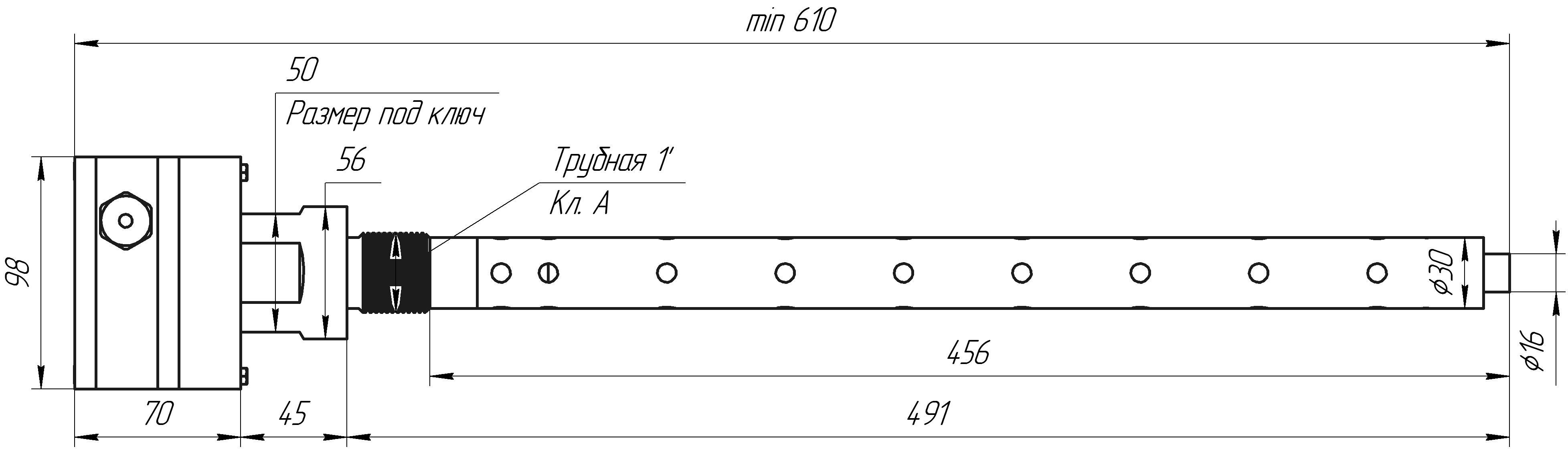 Проточный влагомер ДЖС-7В-м. Датчик влажности чистых сред.